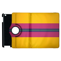 Layer Retro Colorful Transition Pack Alpha Channel Motion Line Apple Ipad 2 Flip 360 Case by Mariart