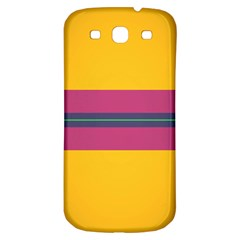Layer Retro Colorful Transition Pack Alpha Channel Motion Line Samsung Galaxy S3 S Iii Classic Hardshell Back Case by Mariart
