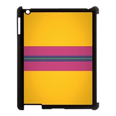 Layer Retro Colorful Transition Pack Alpha Channel Motion Line Apple Ipad 3/4 Case (black) by Mariart
