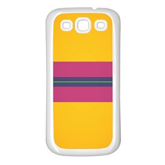 Layer Retro Colorful Transition Pack Alpha Channel Motion Line Samsung Galaxy S3 Back Case (white) by Mariart