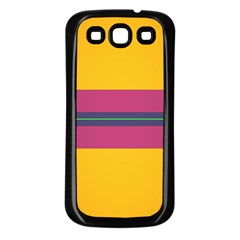 Layer Retro Colorful Transition Pack Alpha Channel Motion Line Samsung Galaxy S3 Back Case (black) by Mariart