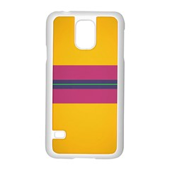 Layer Retro Colorful Transition Pack Alpha Channel Motion Line Samsung Galaxy S5 Case (white) by Mariart