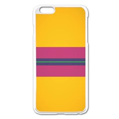 Layer Retro Colorful Transition Pack Alpha Channel Motion Line Apple Iphone 6 Plus/6s Plus Enamel White Case by Mariart