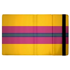 Layer Retro Colorful Transition Pack Alpha Channel Motion Line Apple Ipad Pro 9 7   Flip Case by Mariart