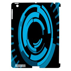 Graphics Abstract Motion Background Eybis Foxe Apple Ipad 3/4 Hardshell Case (compatible With Smart Cover) by Mariart