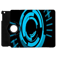Graphics Abstract Motion Background Eybis Foxe Apple Ipad Mini Flip 360 Case by Mariart