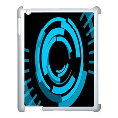 Graphics Abstract Motion Background Eybis Foxe Apple Ipad 3/4 Case (white) by Mariart