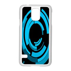 Graphics Abstract Motion Background Eybis Foxe Samsung Galaxy S5 Case (white) by Mariart