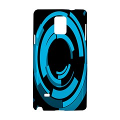 Graphics Abstract Motion Background Eybis Foxe Samsung Galaxy Note 4 Hardshell Case by Mariart