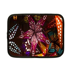 Hanging Paper Star Lights Netbook Case (small)  by Mariart
