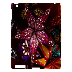 Hanging Paper Star Lights Apple Ipad 3/4 Hardshell Case by Mariart