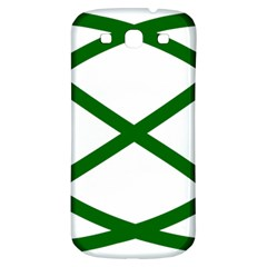 Lissajous Small Green Line Samsung Galaxy S3 S Iii Classic Hardshell Back Case by Mariart