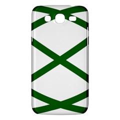 Lissajous Small Green Line Samsung Galaxy Mega 5 8 I9152 Hardshell Case  by Mariart