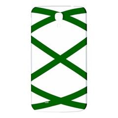 Lissajous Small Green Line Samsung Galaxy Mega I9200 Hardshell Back Case by Mariart