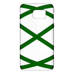 Lissajous Small Green Line Galaxy S6 by Mariart