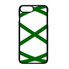 Lissajous Small Green Line Apple Iphone 7 Plus Seamless Case (black) by Mariart
