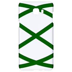 Lissajous Small Green Line Samsung C9 Pro Hardshell Case  by Mariart