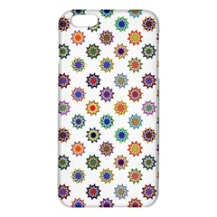 Flowers Pattern Recolor Artwork Sunflower Rainbow Beauty Iphone 6 Plus/6s Plus Tpu Case by Mariart