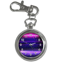 Massive Flare Lines Horizon Glow Particles Animation Background Space Key Chain Watches by Mariart