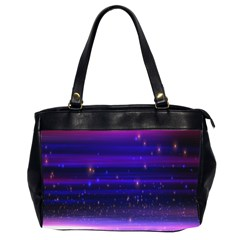 Massive Flare Lines Horizon Glow Particles Animation Background Space Office Handbags (2 Sides)  by Mariart