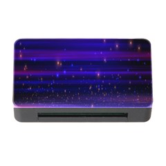Massive Flare Lines Horizon Glow Particles Animation Background Space Memory Card Reader With Cf by Mariart