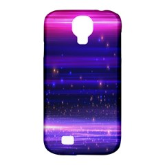 Massive Flare Lines Horizon Glow Particles Animation Background Space Samsung Galaxy S4 Classic Hardshell Case (pc+silicone) by Mariart