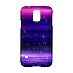 Massive Flare Lines Horizon Glow Particles Animation Background Space Samsung Galaxy S5 Hardshell Case  by Mariart