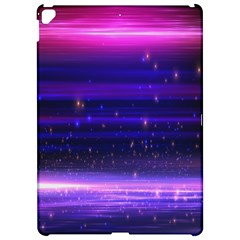 Massive Flare Lines Horizon Glow Particles Animation Background Space Apple Ipad Pro 12 9   Hardshell Case by Mariart