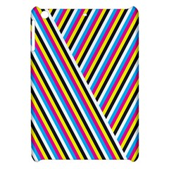 Lines Chevron Yellow Pink Blue Black White Cute Apple Ipad Mini Hardshell Case by Mariart