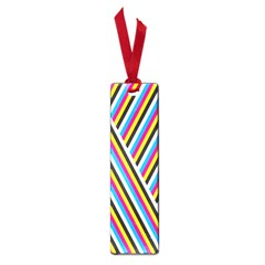 Lines Chevron Yellow Pink Blue Black White Cute Small Book Marks by Mariart