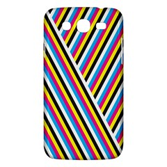 Lines Chevron Yellow Pink Blue Black White Cute Samsung Galaxy Mega 5 8 I9152 Hardshell Case  by Mariart