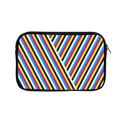 Lines Chevron Yellow Pink Blue Black White Cute Apple Macbook Pro 13  Zipper Case by Mariart
