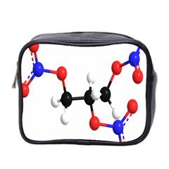 Nitroglycerin Lines Dna Mini Toiletries Bag 2 Side by Mariart