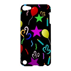 Party Pattern Star Balloon Candle Happy Apple Ipod Touch 5 Hardshell Case by Mariart