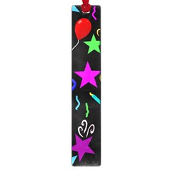 Party Pattern Star Balloon Candle Happy Large Book Marks by Mariart