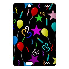 Party Pattern Star Balloon Candle Happy Amazon Kindle Fire Hd (2013) Hardshell Case by Mariart