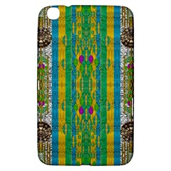 Rainbows Rain In The Golden Mangrove Forest Samsung Galaxy Tab 3 (8 ) T3100 Hardshell Case  by pepitasart