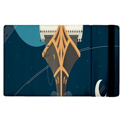 Planetary Resources Exploration Asteroid Mining Social Ship Apple Ipad 2 Flip Case by Mariart