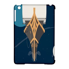 Planetary Resources Exploration Asteroid Mining Social Ship Apple Ipad Mini Hardshell Case (compatible With Smart Cover) by Mariart