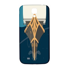 Planetary Resources Exploration Asteroid Mining Social Ship Samsung Galaxy S4 I9500/i9505  Hardshell Back Case by Mariart