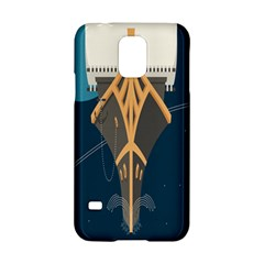 Planetary Resources Exploration Asteroid Mining Social Ship Samsung Galaxy S5 Hardshell Case  by Mariart