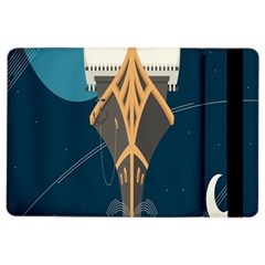 Planetary Resources Exploration Asteroid Mining Social Ship Ipad Air 2 Flip by Mariart