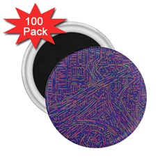 Infiniti Line Building Street Line Illustration 2 25  Magnets (100 Pack)  by Mariart