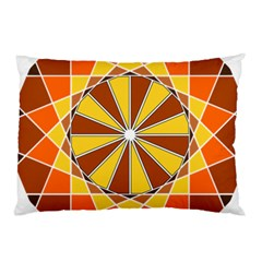 Ornaments Art Line Circle Pillow Case (two Sides) by Mariart
