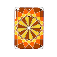 Ornaments Art Line Circle Ipad Mini 2 Hardshell Cases by Mariart