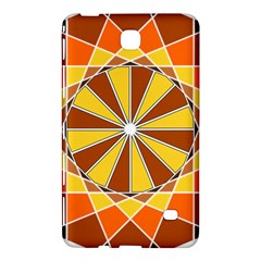 Ornaments Art Line Circle Samsung Galaxy Tab 4 (8 ) Hardshell Case  by Mariart