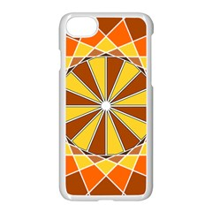 Ornaments Art Line Circle Apple Iphone 7 Seamless Case (white) by Mariart