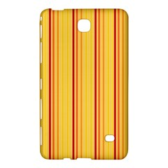 Red Orange Lines Back Yellow Samsung Galaxy Tab 4 (8 ) Hardshell Case  by Mariart
