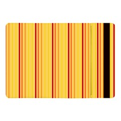 Red Orange Lines Back Yellow Apple Ipad Pro 10 5   Flip Case by Mariart