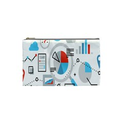 Science Mathematics Formula Cosmetic Bag (small)  by Mariart